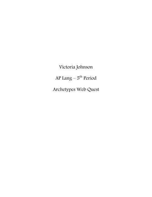 AP Lang - Prospectus