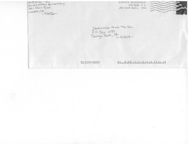 "Pocos Pero Locos ""Dedications From The Pen"" Letters 2011"
