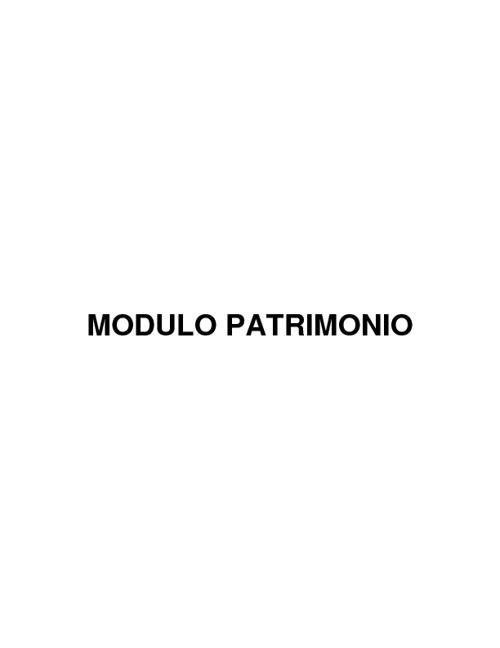 PATRIMONIO IV