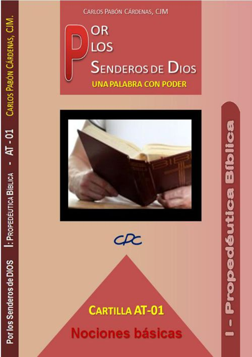 Por los Senderos de DIOS CARTILLA AT 01