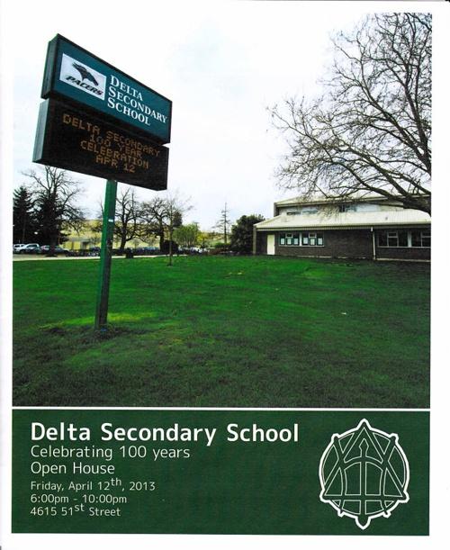 Delta Secondary School | Celebrating 100 Years