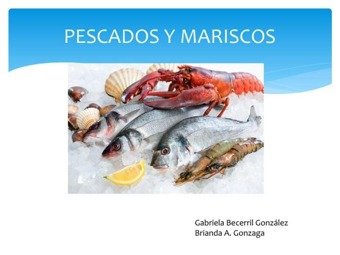 PESCADOS Y MARISCOS 2
