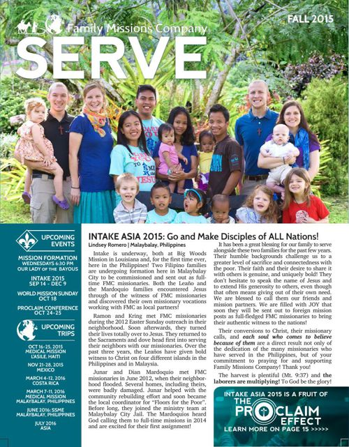 SERVE Newsletters | FMC