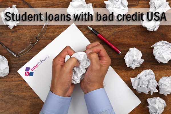 Student-loans-with-bad-credit-USA