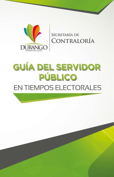 GUIA DEL SERVIDOR PÚBLICO - En tiempos electorales