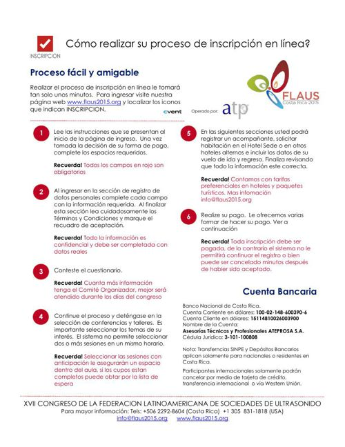 Guía Rápida ¿Cómo hacer su inscripción en nuestro sistema en Lín