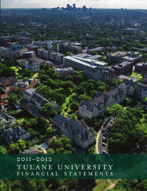 2011-2012 Tulane University Financial Statements