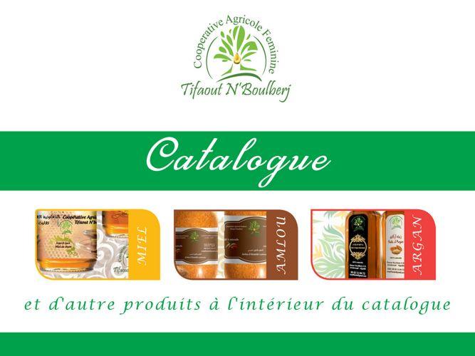 Catalogue Coopérative Tifaout N'boulberj