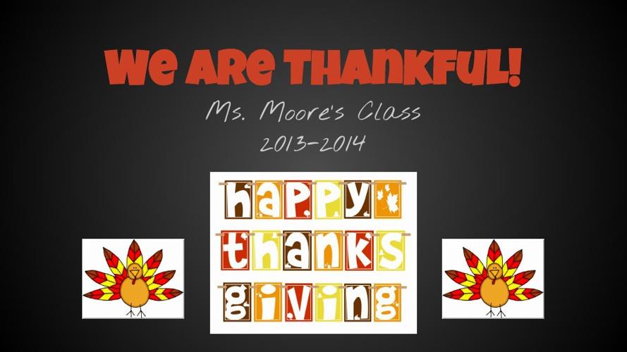 Thanksgiving FlipBook 2013-2014