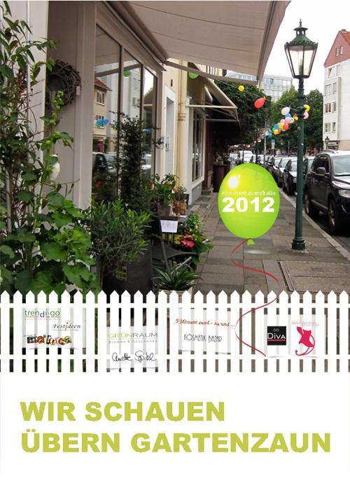 Gartenzaun 2012