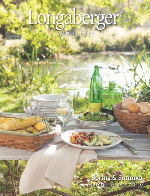 Longaberger 2016 Spring-Summer Wishlist