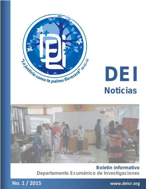 Boletín informativo del DEI - Departamento Ecuménico de Investig