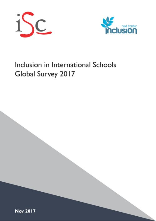 NFI ISC Inclusion Survey 2017 - Report for Schools