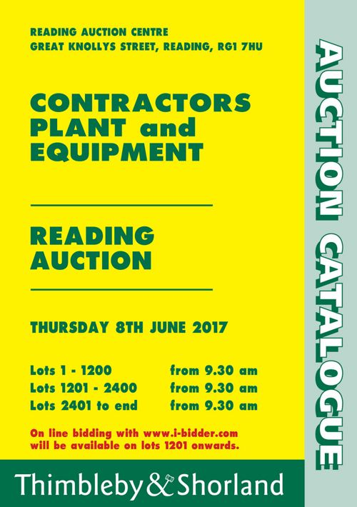 Catalogue for Contractors Plant & Equipment