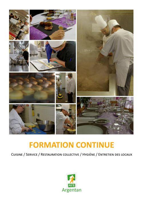 MFR Argentan - Formations cuisine