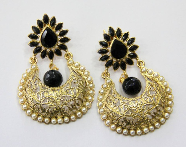 Kundan/ Meena Earings- Part 3