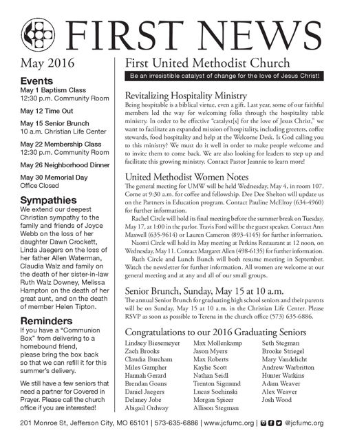 First News May 2016