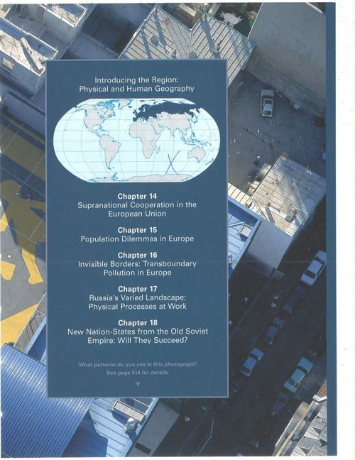 Introducing the Region Phyiscal and Human Geography