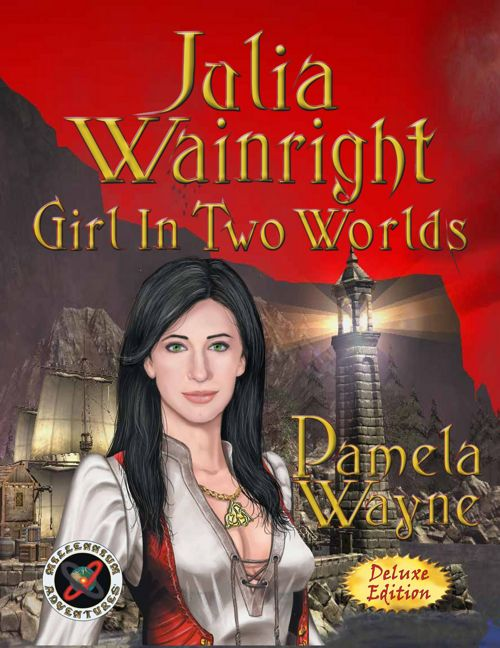 JULIA WAINRIGHT - GIRL IN TWO WORLDS - FLIPBOOK