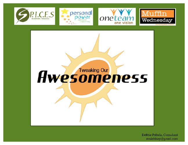 Our Awesomeness Journey