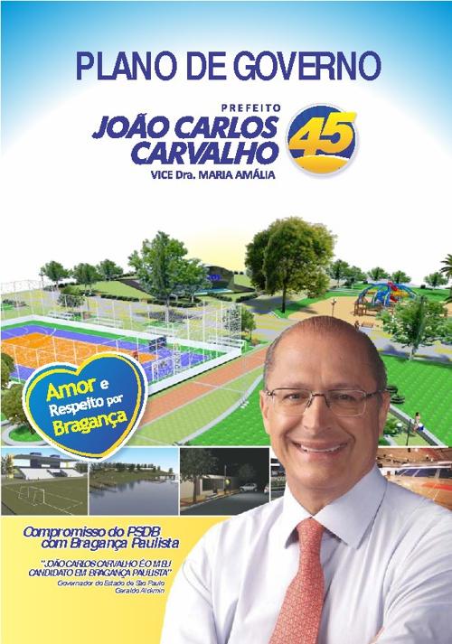 Plano de Governo - João Carlos Carvalho