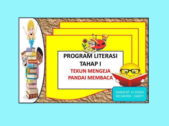 PROGRAM LITERASI TAHAP 1