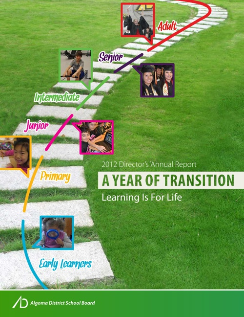 ADSB 2012 Director's Annual Report - A Year in Transition