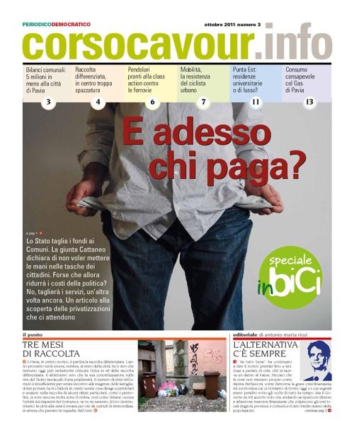 Corsocavour.info periodico del PD di Pavia: ottobre