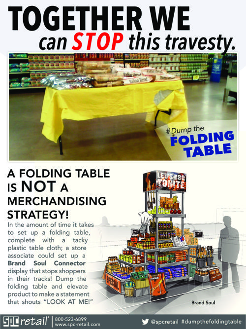 Dump the Folding Table