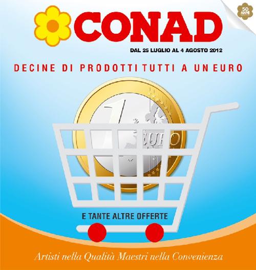 CONAD DECINE DI PRODOTTI AD 1€