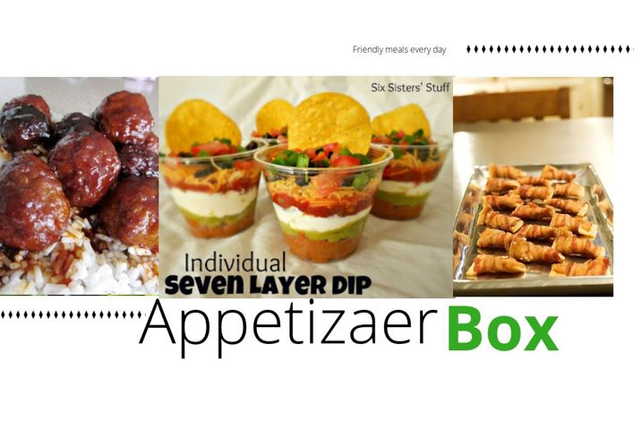 Appetizers For Meal Management