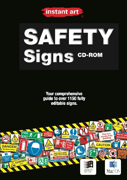 instant art© Safety Signs catalog