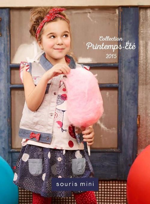 Catalogue Collection Printemps-Été 2015 Souris Mini