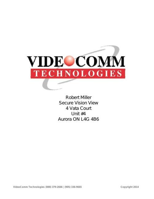 Secure Vision View - Robert Miller