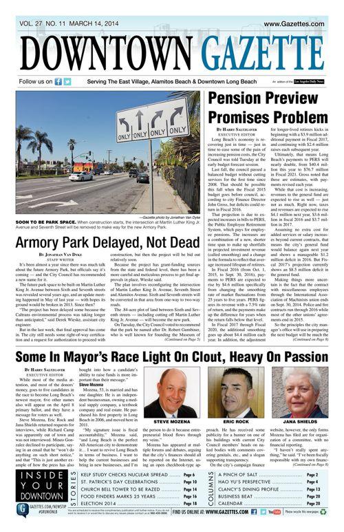 Downtown Gazette  |  March 14, 2014