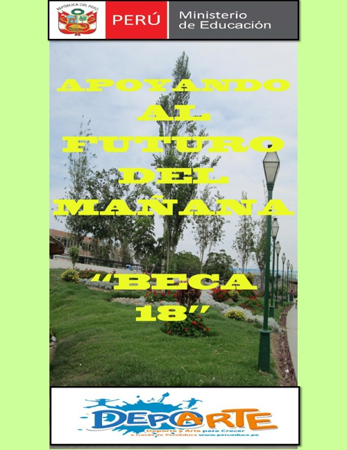 "BECARIOS EN LA I.E. 81014 ""PEDRO MERCEDES UREÑA"" - TRUJILLO"