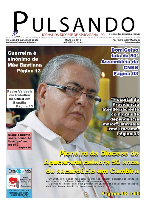 Jornal Pulsando Maio 2012