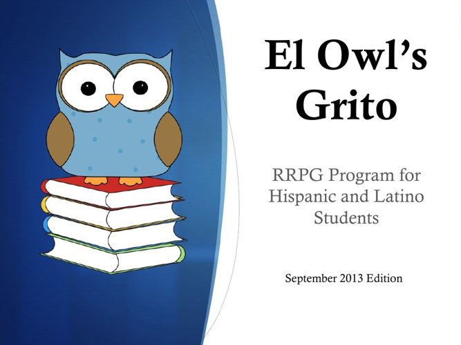 RRPG Owl's Grito September Edition