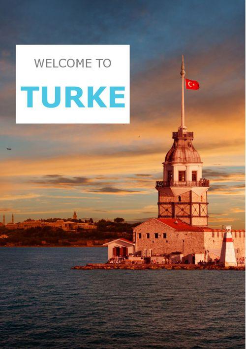 brochure for Turkey
