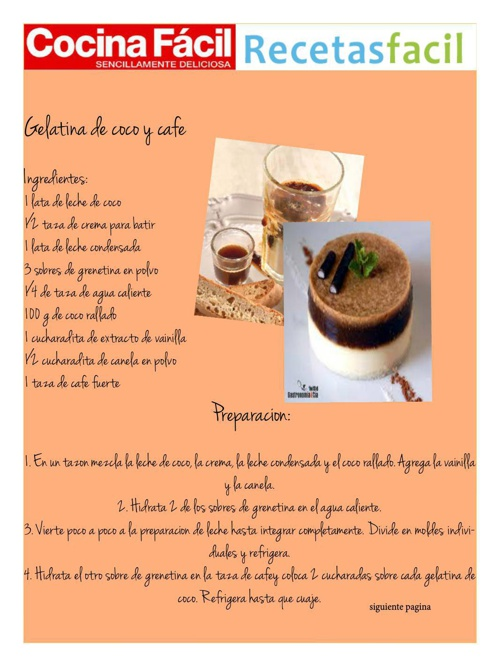 recetas de cocina indesing