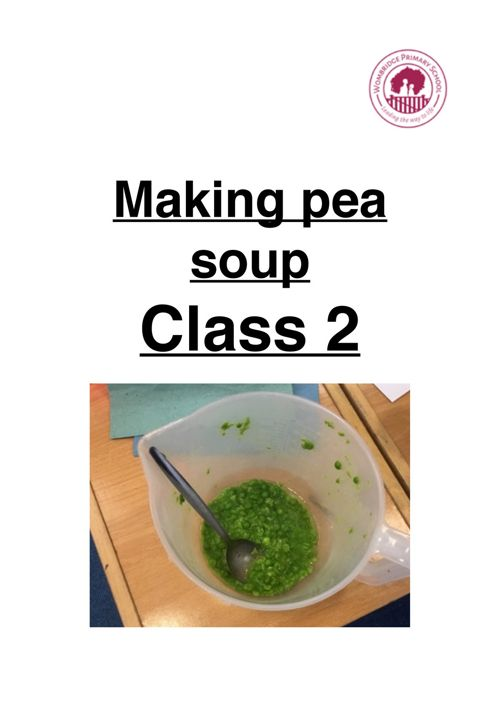 Making pea soup