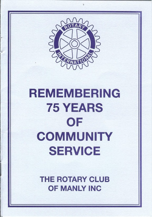 Manly Rotary1937-2012