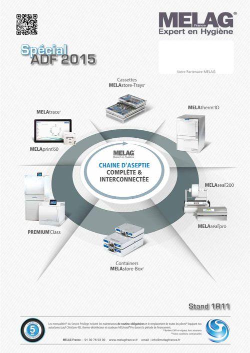 MELAG France - Promo ADF 2015