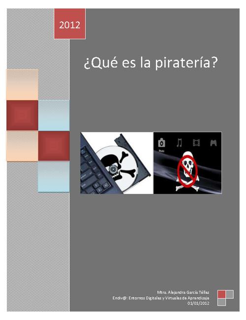 ¿Qué es la piratería?