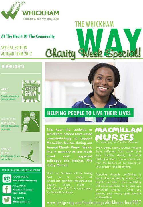 Whickham Charity Way
