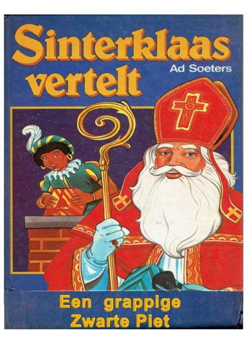 Een grappige Zwarte Piet