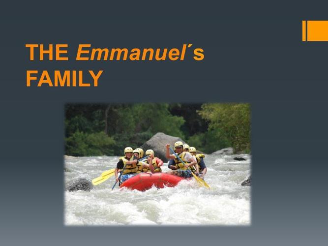 The Emmanuel´S family