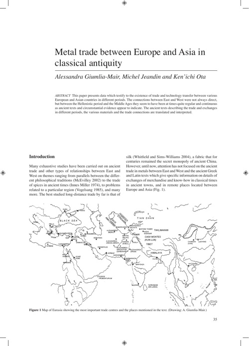 Metallurgy and Civilisation: Eurasia and Beyond