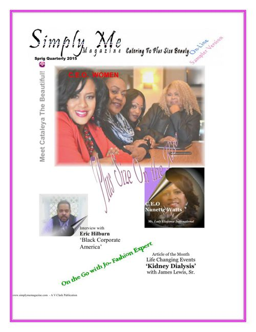 Simply Me Magazine - On-Line - Sampler Version