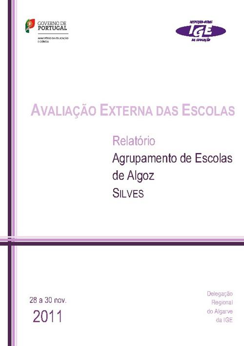 Relatório Avaliação Externa 2012